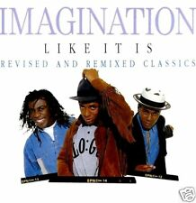 CAS - Imagination - Like It Is (REMIXED) NEW & SEALED
