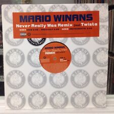 "NM 12""~MARIO WINANS~TWISTA~Never Really Was (Remix)~[Main~Radio~Instrumental]~"