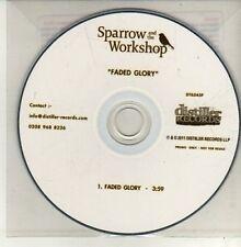 (CH774) Sparrow & The Workshop, Faded Glory - 2011 DJ CD