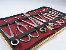 BONSAI Tools Stainless steel 8pcs set KANESHIN SEKI made in JAPAN gift No.177A