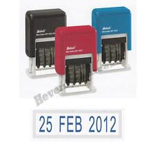 One Deskmate Self-Inking Rubber Date Stamp Choose Ink Color Free Ship & Track