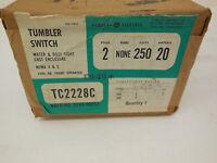 NEW GENERAL ELECTRIC TC2228C TUMBLER SWITCH