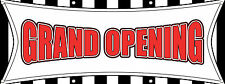 Grand Opening Banner New Business Store Advertising 96in x 36in Multi Color Sign