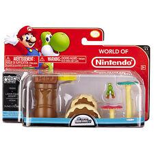 Nintendo Super Mario Bros U Micro Land Yoshi Layer Cake Desert 3- Piece Pack