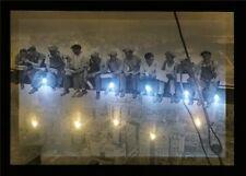 New York LED Leucht bild Beleuchtung Wohnzimmer Dekoration 45x65