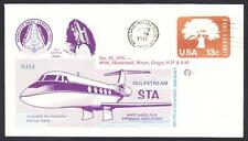 GULFSTREAM STA SPACE SHUTTLE TRAINING AIRCRAFT FLIGHT 10-20-1976 Space Cover