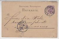 Deutsches Reich,P 18I, Bockenheim, 1889, AKS Pirmasens