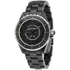 Chanel J12 Automatic Black Dial Ceramic Unisex Watch H3829