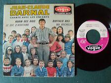 "JEAN CLAUDE DARNAL & enfants: Robin des bois, Buffalo Bill 7"" EP VOGUE EPL 8416"