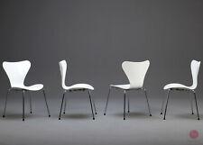 Fritz Hansen Serie 7 Stuhl 3107 - Arne Jacobsen Stapelstuhl weiß lackiert TOP