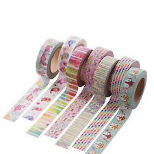 Kawaii Tape Paper Sticky Adhesive Sticker Scrapbooking Book Diary Decor DIY New