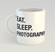 Eat Sleep Photography Mug Funny Birthday Novelty Gift Photographer Camera