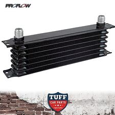 Proflow Auto Transmission Oil Cooler 7 Row 340 x 90 x 50 -10AN Fittings New