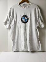 Vintage BMW T-Shirt 90s Size xl  USA Cars white