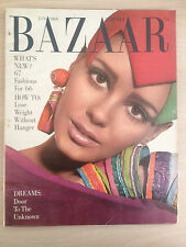 "Magazine Harper's BAZAAR January 1966 ""What's new ?""  Collection Vintage Mode"