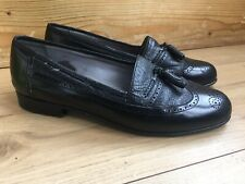 MORESCHI RUSSEL & BROMLEY MENS LOAFERS SHOES SIZE 7.5 ITALIAN LEATHER