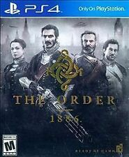 PS4 The Order: 1886 (PlayStation 4, 2016) Free Shipping!!