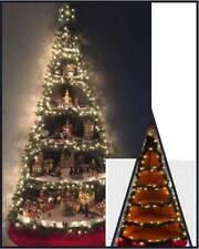 Albero di Natale presepe angolare led completo di tutto personaggi esclusi Ap2.