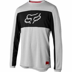 Fox Racing Ranger Dri-Release Fox Head Long Sleeve L/S Jersey Steel Grey