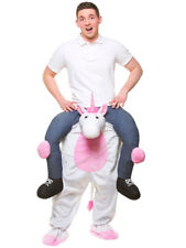 Carry Me White Unicorn Costume Mens Stag Night Fancy Dress Fantasy Fairytale
