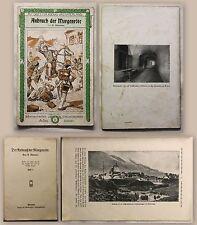 Niemeier Anbruch der Morgenröte 1912 Militärgeschichte Jünglingsbund Barmen xz