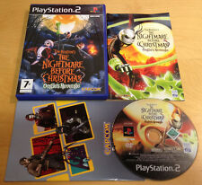 THE NIGHTMARE BEFORE CHRISTMAS OOGIES REVENGE for SONY PS2 PLAYSTATION 2 Capcom