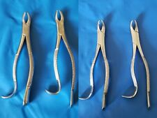 4 Dental Extracting Forceps # 18L+18R+18LS+18RS Surgical Instruments