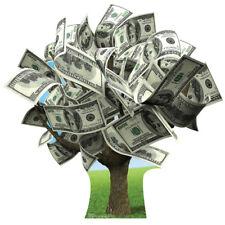MONEY TREE Financial Prop CARDBOARD CUTOUT Standup Standee Poster Moneytree F/S