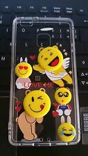 COVER PER HUAWEY ASCEND P9 LITE SILICONE BACK CASE 3D EMOCTION FACEBOOK