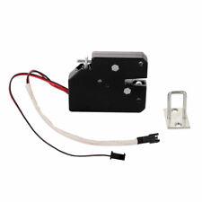 12V Magnetic Latch Door Lock Electric Drop Bolt Picks Auto DC Solenoid Ind Good