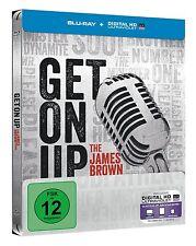 GET ON UP, Die James Brown Story (Blu-ray Disc, Steelbook) NEU+OVP