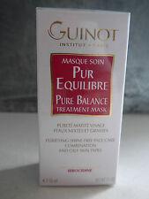 GUINOT - MASQUE SOIN PUR EQUILIBRE - Pureté matité visage peaux mixtes et grasse