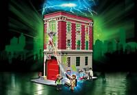 PLAYMOBIL GHOSTBUSTERS #9219 GHOSTBUSTERS Fire house - New Factory Sealed