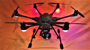 Yuneec TyphoonH /RealSense/Gco3 4k Camera/Carrying Case/Long range antenna's