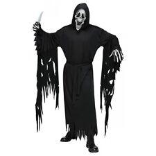 Grim Reaper Costume Adult Scary Halloween Fancy Dress