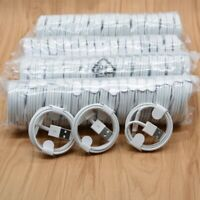 50 Lot Premium USB Cable Charger Cord Wholesale Bulk for iPhoneSE 5/6/7/8 Plus X
