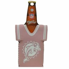 Nfl Womens Miami Dolphins Jersey Novelty Coozie Bottle Beer Cooler Coolie Drink