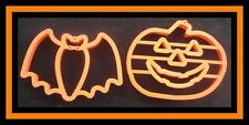 2 pc Halloween Large Cookie Cutters Set #3  EUC
