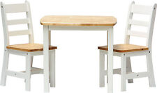 Children's MDF/Chipboard Wood Effect Table and Chair Set