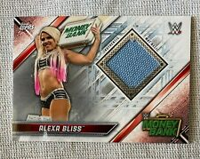 ALEXA BLISS 2019 WWE Topps Money in the Bank Mat Relic Card