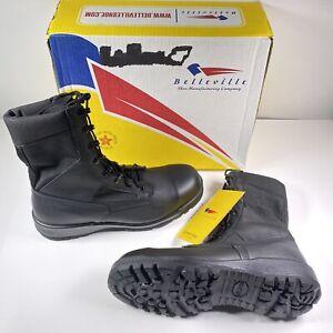 Belleville Men's Sz 11 R Hot Weather Steel Toe Black Boot 300 TRP ST NWB