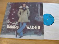 LP Hannes Wader Same Der Rattenfänger Lütt Matten Vinyl Amiga DDR 8 55 635