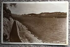 Loch Ness and the Road to Inverness. Posted 1935 with Pitlochery postmark.