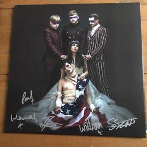 "Creeper - American Noir 12"" Vinyl Signed Autographed"