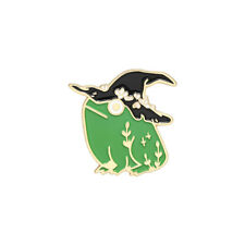 Witch Frog Enamel Pins Personalized Brooches Bag Clothes Lapel Pins Animal Badge