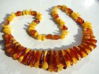 naturel ambre de la BALTIQUE COLLIER