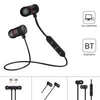 Universal Magnéticos Auriculares Inalámbricos Deportivos Bluetooth 4.1 Micrófono
