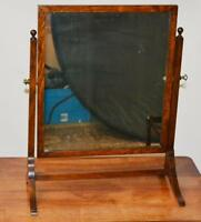 Antique George III Oak dressing table Swing Mirror - FREE Shipping [PL2540]