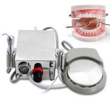 2 Hole Portable Dental Turbine Unit With3 Way Syringe Work With Air Compressor