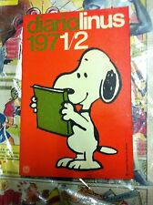 Diario Linus 1971-72 Ottimo senza alcuna scritta o difetto